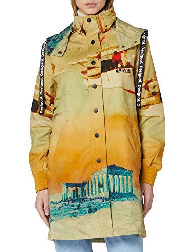 Desigual Womens CHAQ_Venecia Jacket, Yellow, S