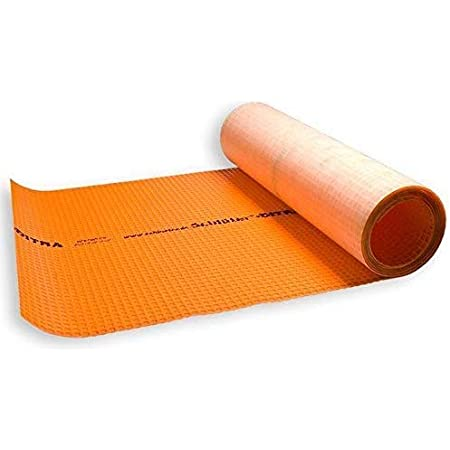 Schluter Ditra tapis d/'étanchéité découplante membrane 4 m² Cut Roll