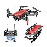 Goolsky Dongmingtuo X12 2.0MP Telecamera grandangolare WiFi FPV Drone Altitude Hold Ritorno One Key RC Quadcopter (Rosso)