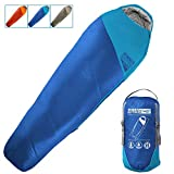 WINNER OUTFITTERS Mummy Sleeping Bag with Compression Sack, It's Portable and Lightweight for 3-4 Season...