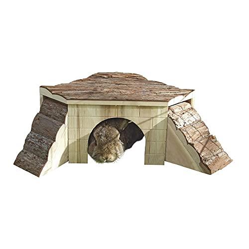 Casa para roedores con rampas 37 x 37 x 16 cm sin rampas 25 x 25 x 15 cm