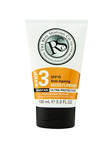 The Real Shaving Company Step 3 SPF 15 Anti-Ageing Moisturiser 100 ml