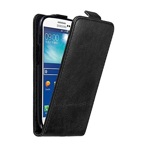 Cadorabo Custodia per Samsung Galaxy S3 / S3 NEO in NERO DI NOTTE - Protezione in Stile Flip con Chiusura Magnetica - Case Cover Wallet Book Etui