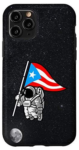 iPhone 11 Pro Puerto Rican Astronaut Boricua Flag Case