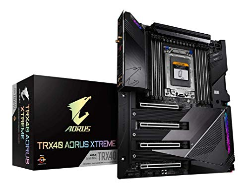 GIGABYTE TRX40 AORUS Xtreme (sTRX/AMD/TRX40/Fins-Array Heatsink/16+3 Phases Infineon...