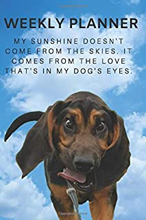 2020 & 2021 Two-Year Weekly Planner For Bloodhound Owner| Cute Hound Dog Quote Appointment Book Gift | Two Year Agenda Notebook: Starts November 2019 ... Plans | Daily Logbook | Personal Goal Day Log