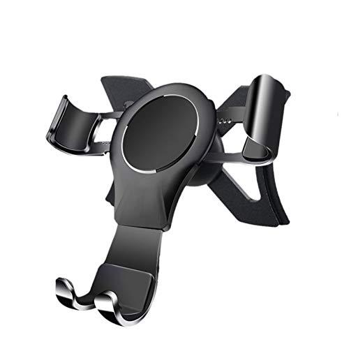 ZHOUBENXIANG Soporte de teléfono del automóvil Monte Magnético Teléfono Navegación Soporte Ajuste para Audi A3 S3 Año 2014-2019 Auto Car Phone Holder Soporte Accesorios ( Color : Gravity black )