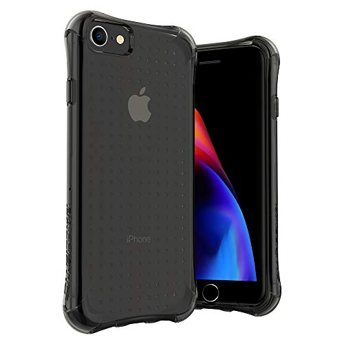 Ballistic iPhone 8 Clear Case, Heavy Duty Shockproof Bumper Case for iPhone 8/7/6/6s, 4.7'' Black Clear