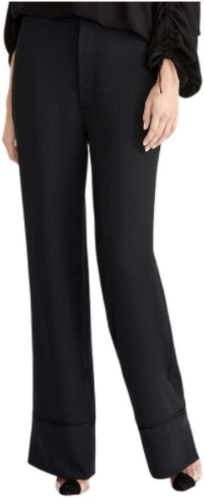 Rachel Rachel Roy Odette Twill Trousers Black 6