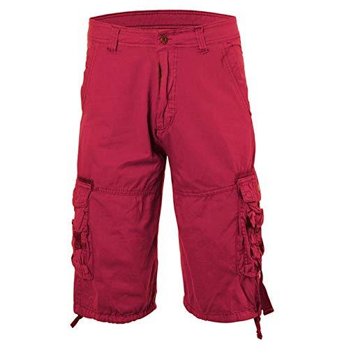 Plantilla De Gel De Masaje Pantalones Cortos De Camuflaje Cargo para Hombre Pantalones Cortos Militares Tácticos Casuales Pantalones Cortos con Cremallera De Moda Pantalones C