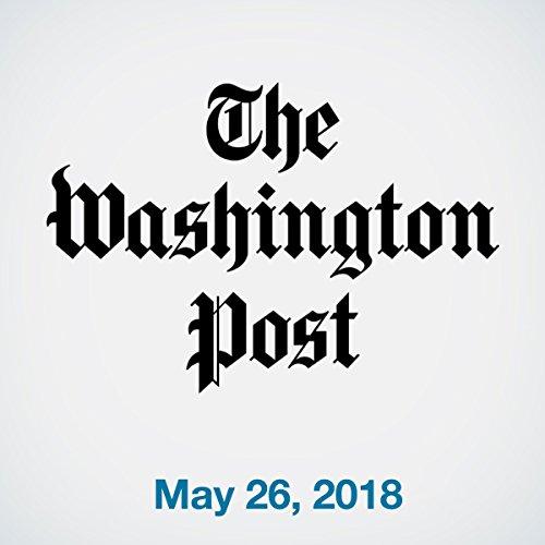 May 26, 2018 copertina