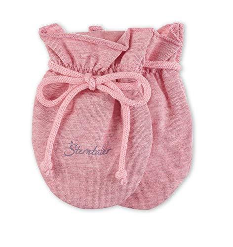 Sterntaler Baby Scratch Mitts Mouffles, Rose (Rosa Mel. 703), Unique (Taille Fabricant: 0) Bébé Fille