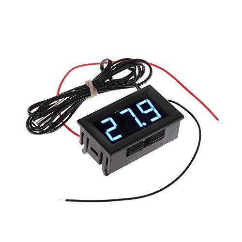 KKMOON DC5-12V -50-110? Termometro frigorifero/igrometro digitale frigorifero, rilevatore di temperatura/umidità con sonda