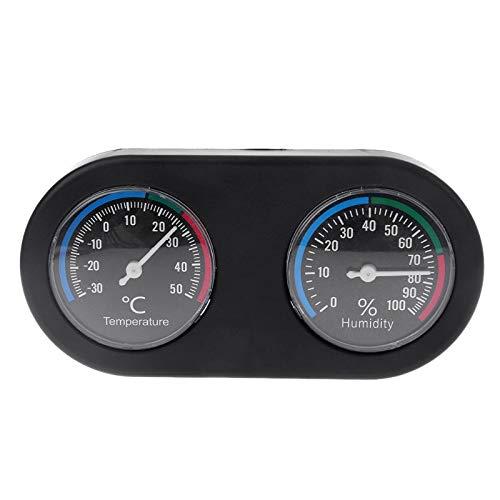Nirmon Higrómetro Termómetro De Tanque De Reptiles Monitor De Humedad De Temperatura para Vivarium Terrario