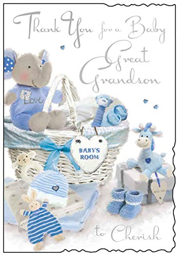 Jonny Javelin Thank You for A Baby Great Grandson to Cherish New Baby C
