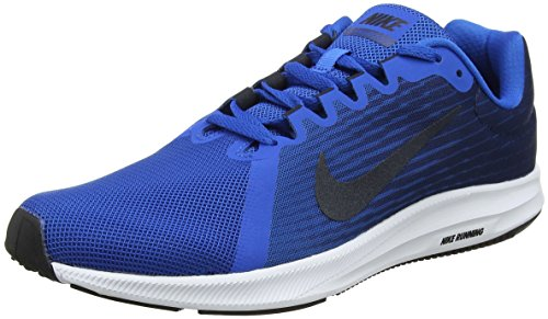 Nike Men's Downshifter 8 Blue/D.Obsdn-Navy-Wht Running Shoes-9 UK...