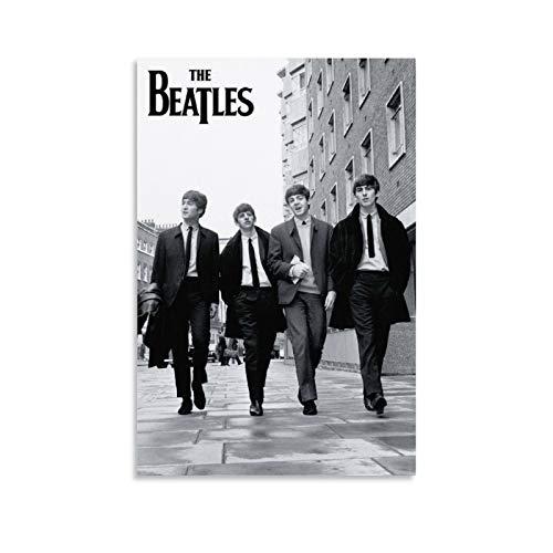 XYDQ Póster vintage de The Beatles con cuadro decorativo para pared, para sala de estar, dormitorio, 60 x 90 cm