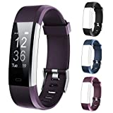 Lintelek Fitness Tracker ID115Plus HR,Bundle with ID115Plus HR Replacement Bands(2 Items)