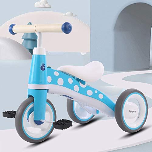 Productos infantiles Triciclo para Niños, Bicicleta para Niños De 1-2-3-5 Años con Pedales, Scooter De Equilibrio para Empuje Manual para Bebés, Música Incorporada, Carga De Aproximadamente 50 Kg