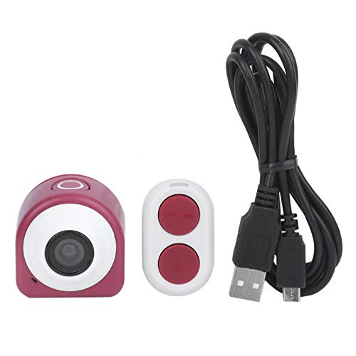 Alomejor Mini cámara 1080P HD Cámara inalámbrica Oficina en casa Garaje Monitor de Seguridad Cámara Deportiva 125 ° Gran Angular