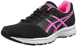 Asics Patriot 8, Női futócipő, Fekete (fekete / meleg rózsaszín / fehér), 39 EU (5.5 UK)