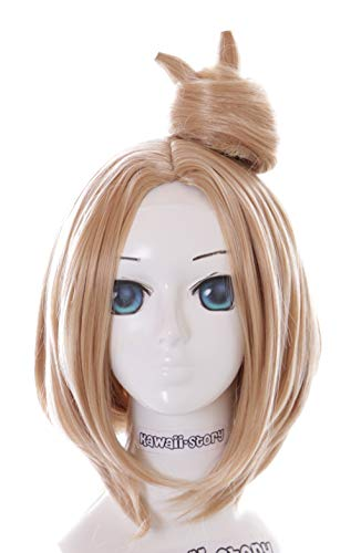 Kawaii-Story KS-235Y Blond Dutt Bob für Abigail Fate Grand Order Cosplay Perücke Wig Anime Manga