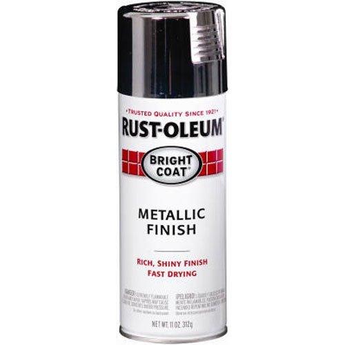 Rust-Oleum 7718830 7718-830 Automotive Accessories, Each, Metallic Chrome