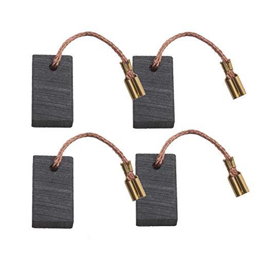2 pares de cepillos de carbono 316034930 5 x 10 x 16 mm con ajuste automático para Metabo W8-125 W7-115 W7-125 WE14-125Plus 31603551 316035510