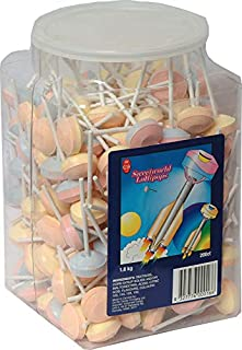 Sweetworld Sherbet Lollipops, 1.6 kg