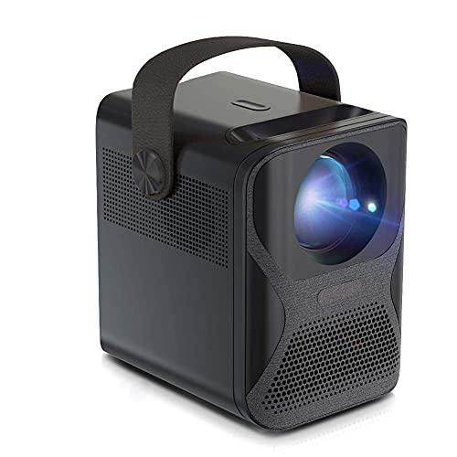 ZHAOHGJ Worth Having - Proyector Full HD 1920x1080P WiFi Mini Proyector for el Cine en casa Teléfono LED Video Beamer 4K decodificación, a