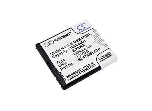 CS-BES470SL Akku 1000mAh Kompatibel mit [Olympia] Janus, für [Bea-fon] SL470, SL570, SL670_EU001W, SL670A, SL671A Ersetzt SL470/SL570