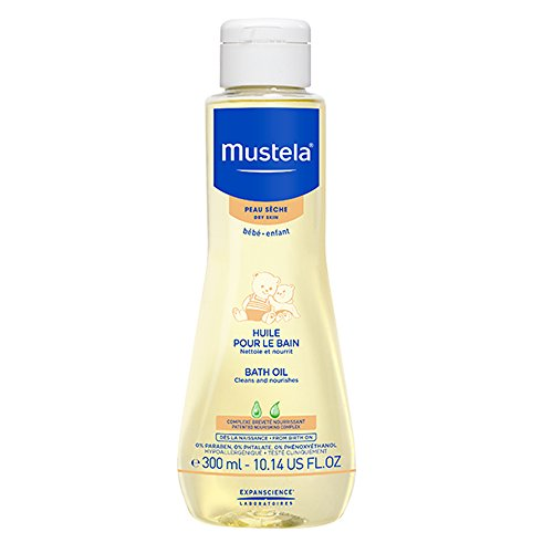 Labor.Expanscience Mustela Olio Bagno Detergente e Nutriente - 300 ml