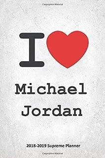 I Michael Jordan 2018-2019 Supreme Planner: Michael Jordan