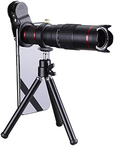 M-fit 26X Zoom Mobile Phone Telescope Lens Optical Telephoto Camera Lens with Tripod Holder HD Telescope Universal Mobile Phone Lens