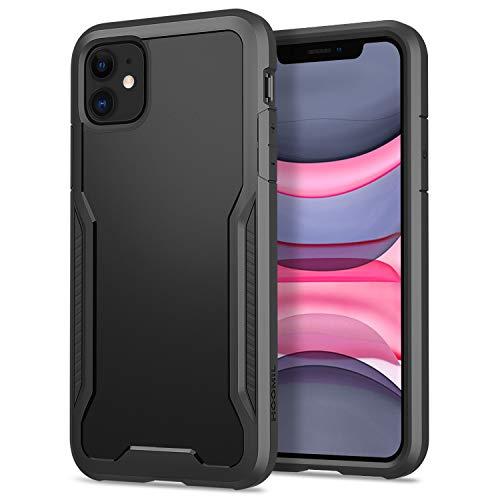 HOOMIL Funda para iPhone 11, Antigolpes Carcasa para Apple iPhone 11 (6,1 Pulgadas), Armor Protección Silicona TPU Bumper Case (Negro)
