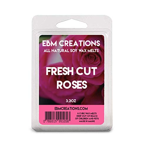 Our #3 Pick is the EBM Creations Fresh Cut Roses Soy Wax Melt Cubes