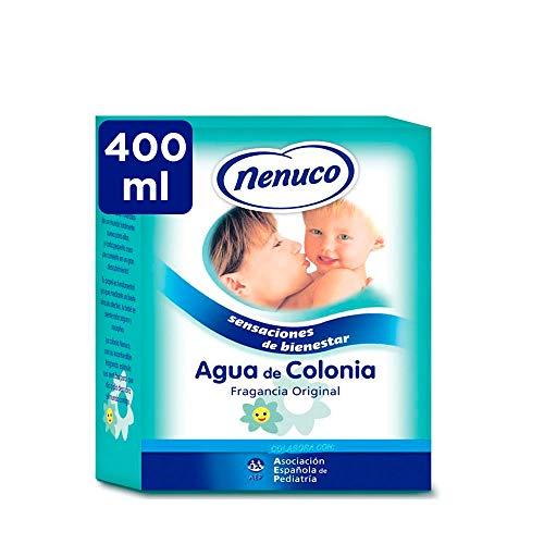 Nenuco Agua de Colonia recomendado para bebés, fragancia original - formato de cristal 400 ml