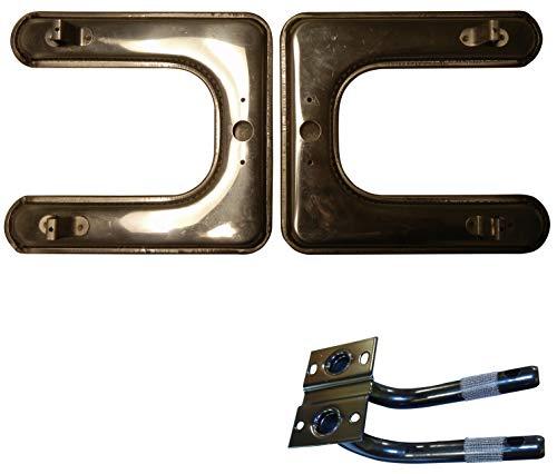 Music City Metals 18102-78202 Edelstahl-Brennereinheit für Gasgrills der Marke Sterling - Silberfarben