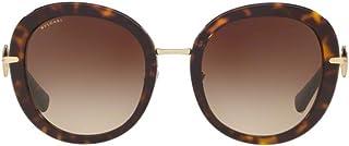 Bvlgari Sunglasses, Round, For Women, Brown, 0Bv8196B 504/13 53