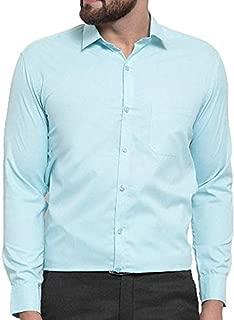 parth fashion Hub Men's Cotton Plain Casual Full Sleeve Shirt
