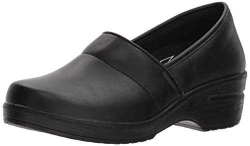 Easy Works Women s LYNDEE Health Care Professional Shoe, Black, 8