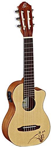 ORTEGA Guitarlele Series Cutaway Preamp - NT - Natural (RGL5CE)