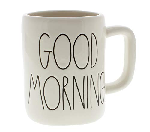 Rae Dunn by Magenta GOOD MORNING Ceramic LL Coffee Mug