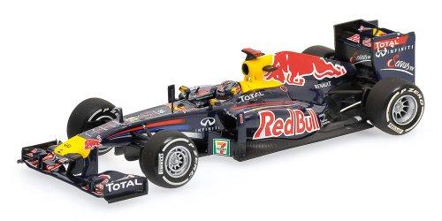 Minichamps 410110301 - Red Bull Racing RB7 - Sebastian Vettel, Maßstab: 1:43