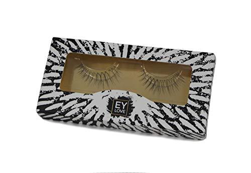Eylove | Natürliche falsche Wimpern für den Alltag | Vegan & ohne Tierversuche | Luxus Face Lashes als künstliche Wimpern, Fake Lashes, 3D Fakewimpern, Eyelashes | hochwertig & natural(Lapwing)