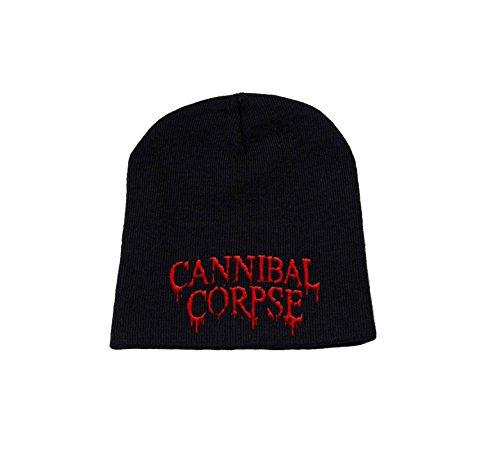 Cannibal Corpse Bonnet Cap band Logo officiel nouveau Noir