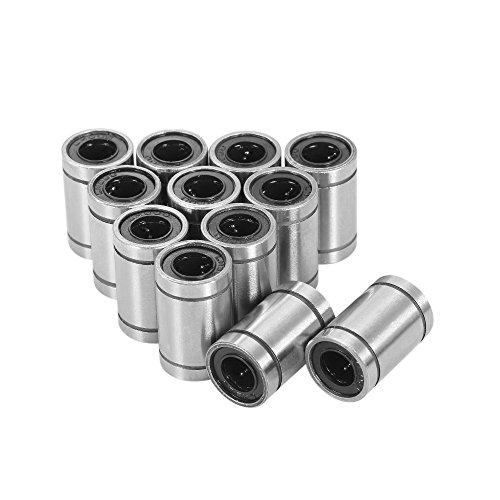 12 stks LM8UU Lineaire Kogellagers voor 8 mm RepRap Prusa 3D Printer Tool DIY CNC Motion 8 * 15 * 24 mm Test Equipment Tools DIY & Tools