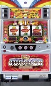 【パチスロ実機】 マイジャグラー3 フルセット コイン不要機付