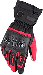 Daphot-Store - Motorcycle Windproof Winter Gloves Full Finger Touch Screen Motocross Racing Moto ATV MTB bicycle Waterproof Protective Gears