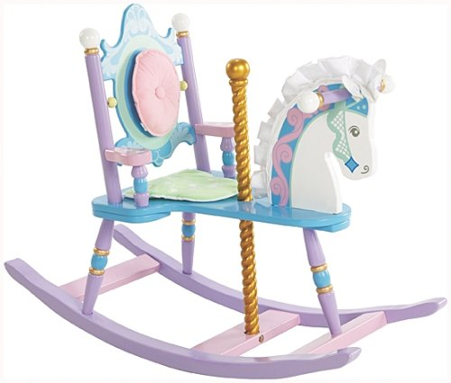 Wildkin Kids Carousel Wooden...